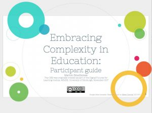 Embracing Complexity in Education, Marion Smallbones