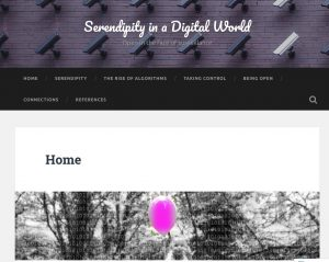 Serendipity in a Digital World,  Clare Thomson