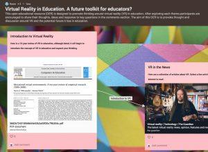 Virtual Reality – A Future Toolkit for Teachers?,  Rosie van den Berg
