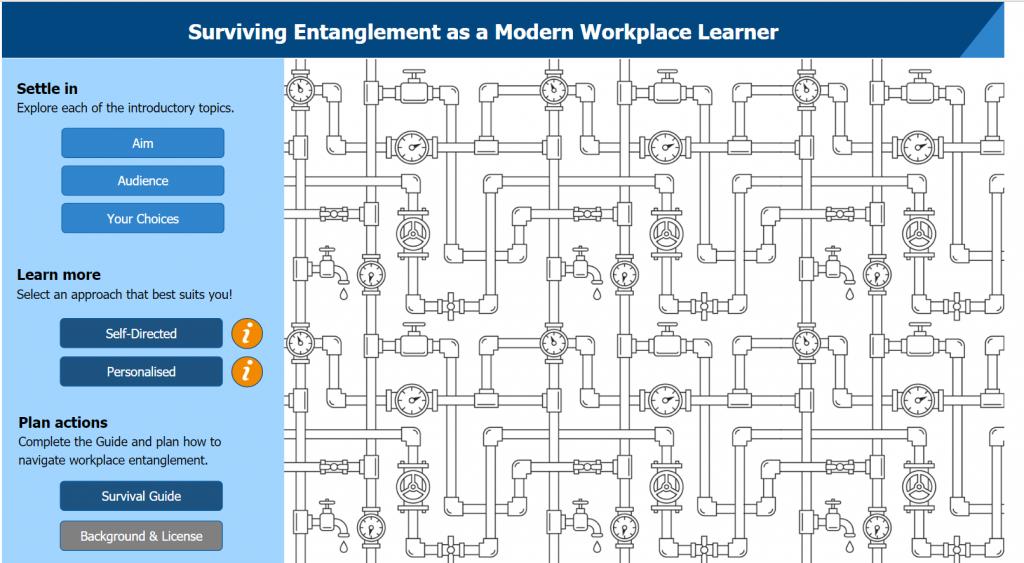 Kym Peckham, Surviving Entanglement as a Modern Workplace Learner