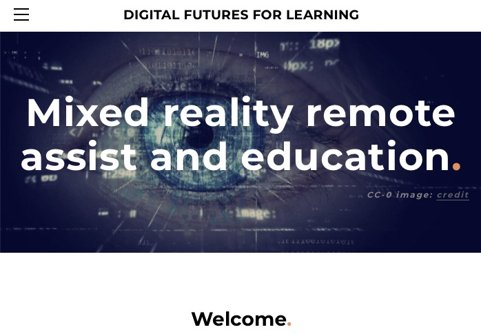 Mixed reality remote assist and education, by Adrian Birch